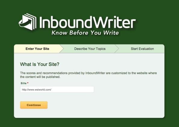 InboundWriter Home